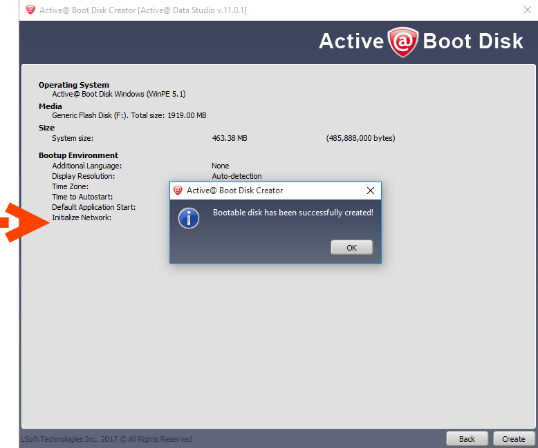Active@ Boot Disk and killdisk software