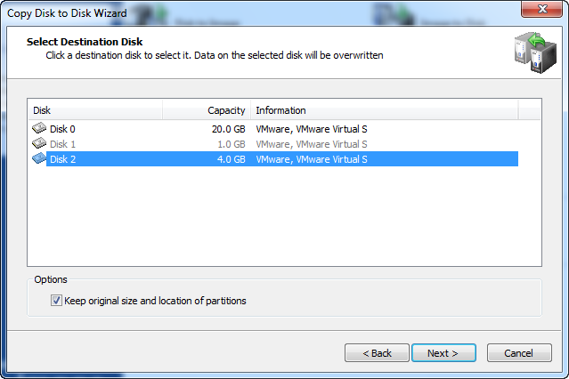 Disk Image software.Copy Disk to Disk Wizard