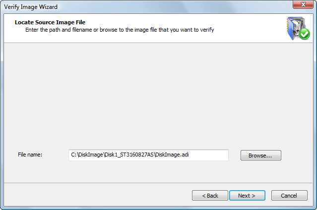 Disk Image: Locate Source Image File