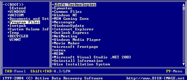 Hard Drive Backup: Long Filenames